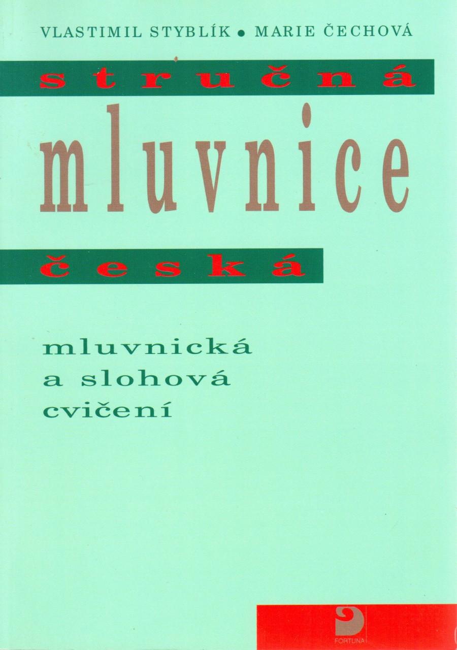 Stručná mluvnice česká, mluvnická a slohová cvičení - Náhled učebnice