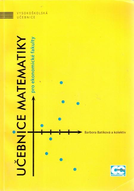 Učebnice matematiky pro ekonomické fakulty