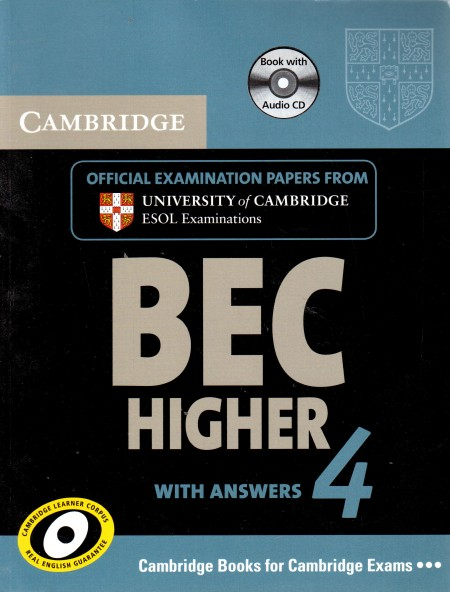 BEC Higher with answers 4