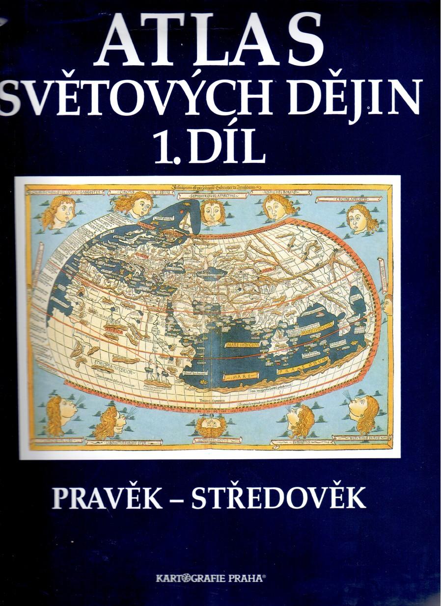 Atlas světových dějin, 1. díl: Pravěk – středověk - Náhled učebnice