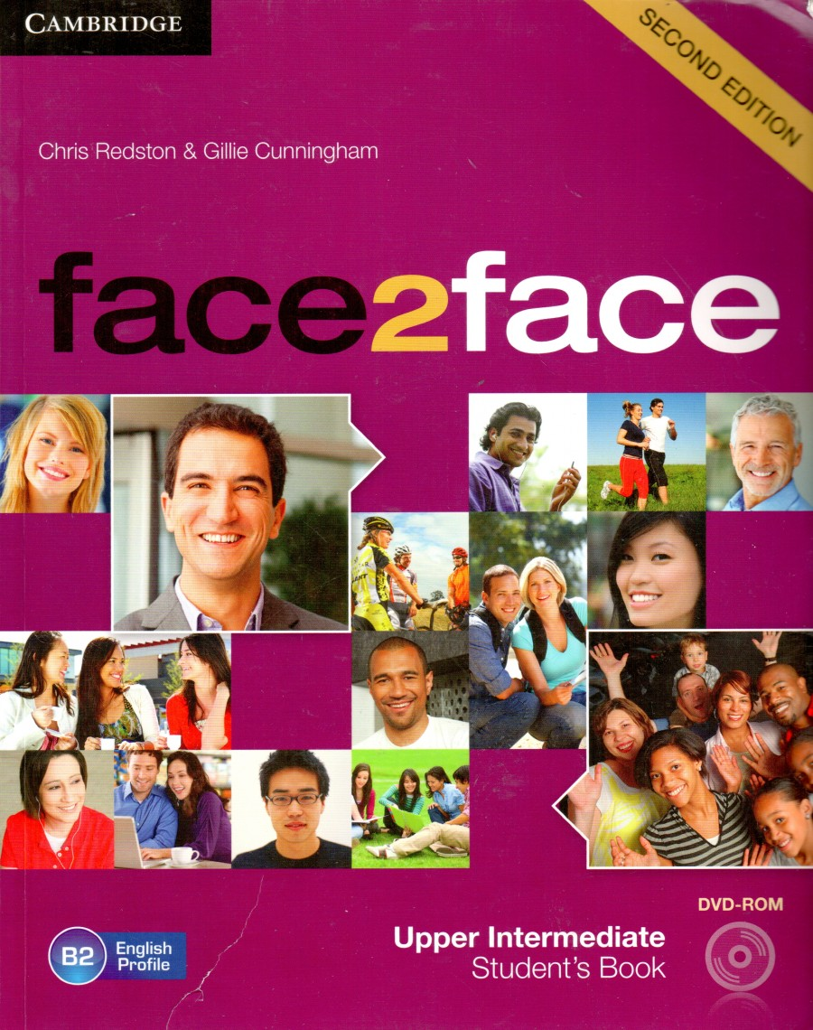 face2face - Upper Intermediate, Second edition, Student's Book + DVD-ROM - Náhled učebnice