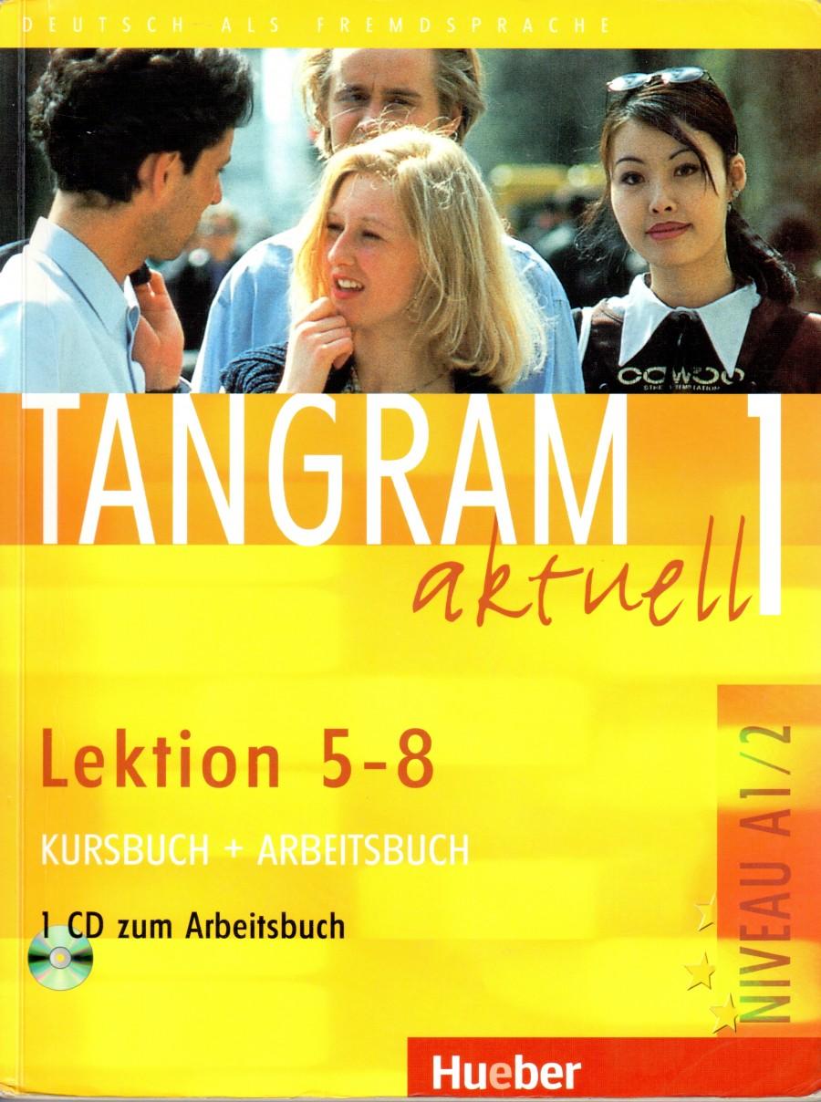 Tangram aktuell 1, Lektion 5-8 (Kursbuch+Arbeitsbuch) - Náhled učebnice