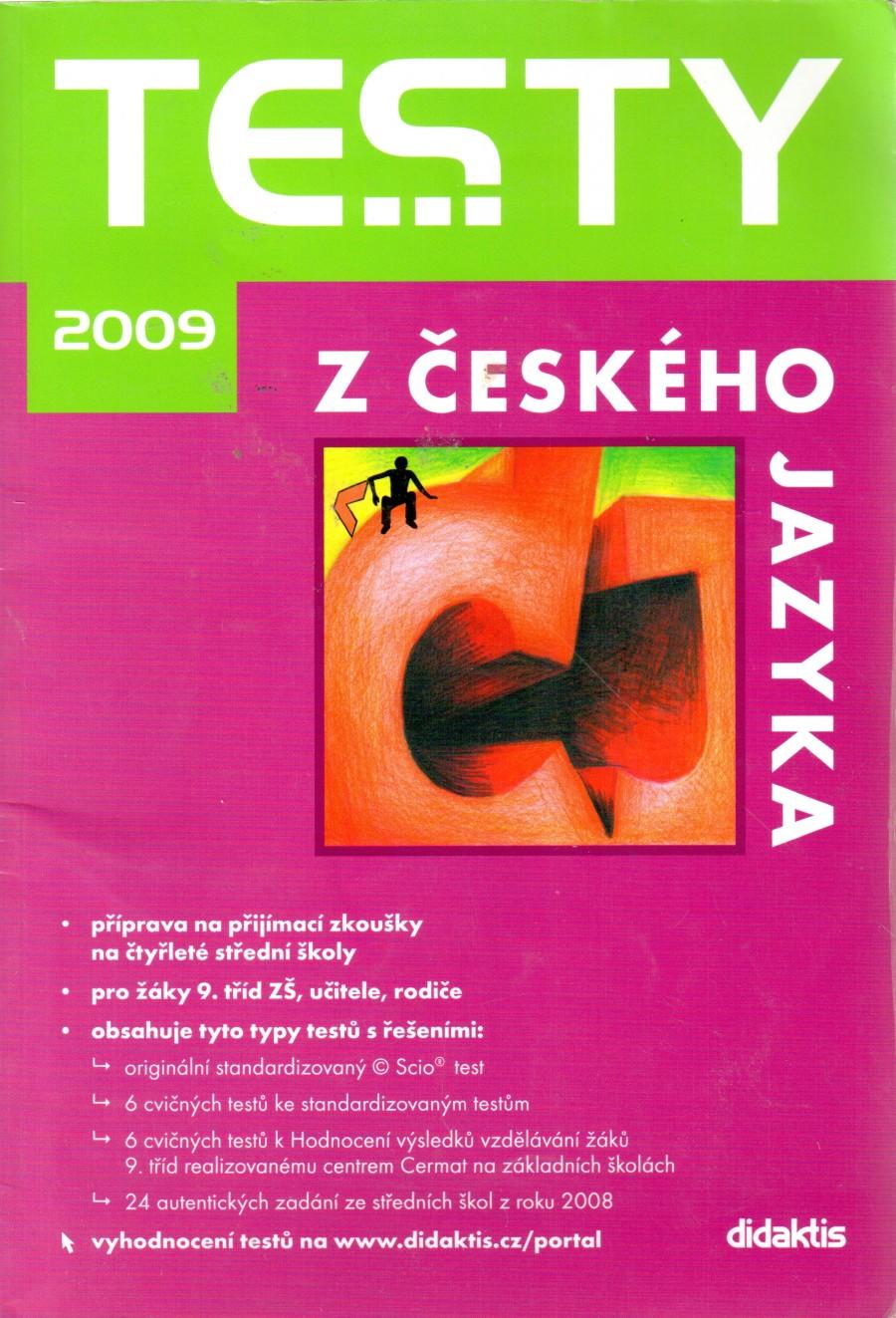 Testy z českého jazyka. - Náhled učebnice