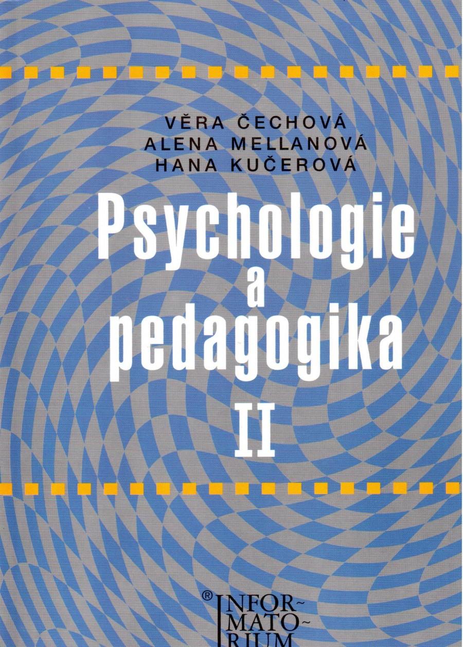 Psychologie a pedagogika II, pro střední zdravotnické školy - Náhled učebnice
