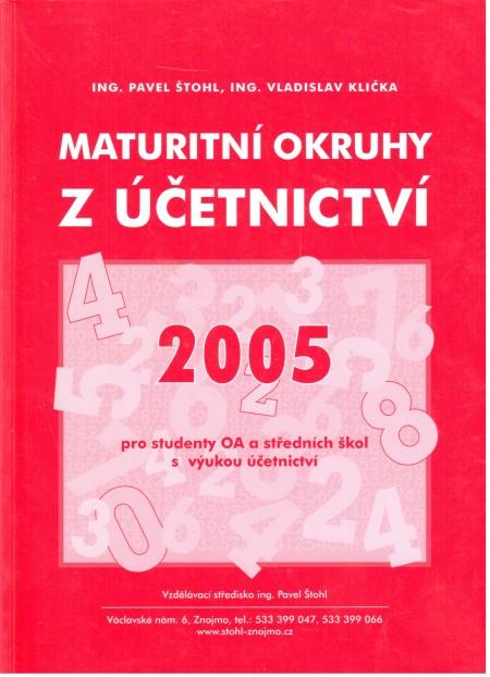 Maturitní okruhy z účetnictví 2005