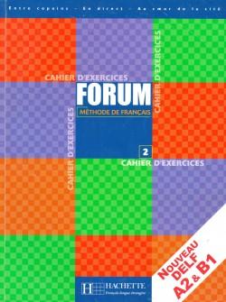 Forum 2, méthode de français (pracovní sešit)