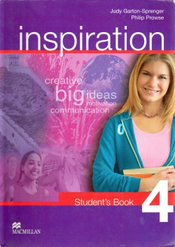 Inspiration, Student´s book 4