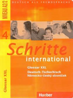 Schritte international 4. Glossar XXL Deutsch - Tschechisch, Deutsch als Fremdsprache - Niveau A2/2