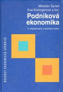 Podniková ekonomika, 5. přepracované a doplněné vydání