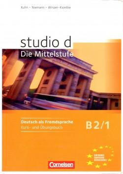 Studio d B2/1, Kurs- und Übungsbuch
