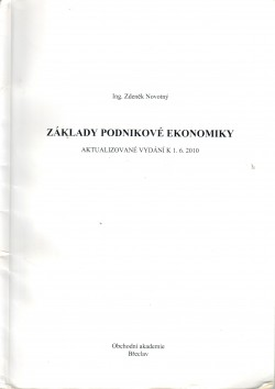 Základy podnikové ekonomiky