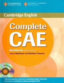 Cambridge Complete CAE – Workbook + Audio CD
