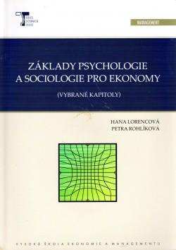 Základy psychologie a sociologie pro ekonomy, (vybrané kapitoly)