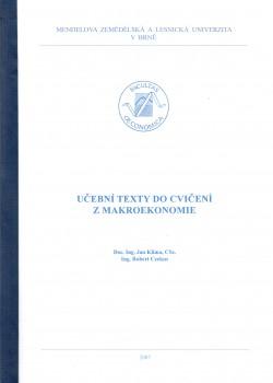 Učební texty do cvičení z makroekonomie