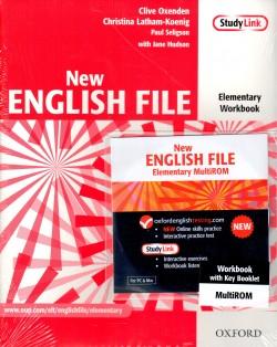 New English File Elem. WB+CD-ROM+Answers