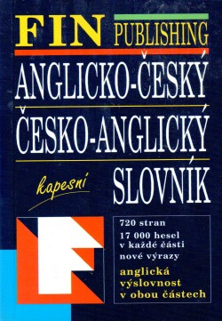 ANGLICKO-ČESKÝ, ČESKO-ANGLICKÝ SLOVNÍK KAPESNÍ